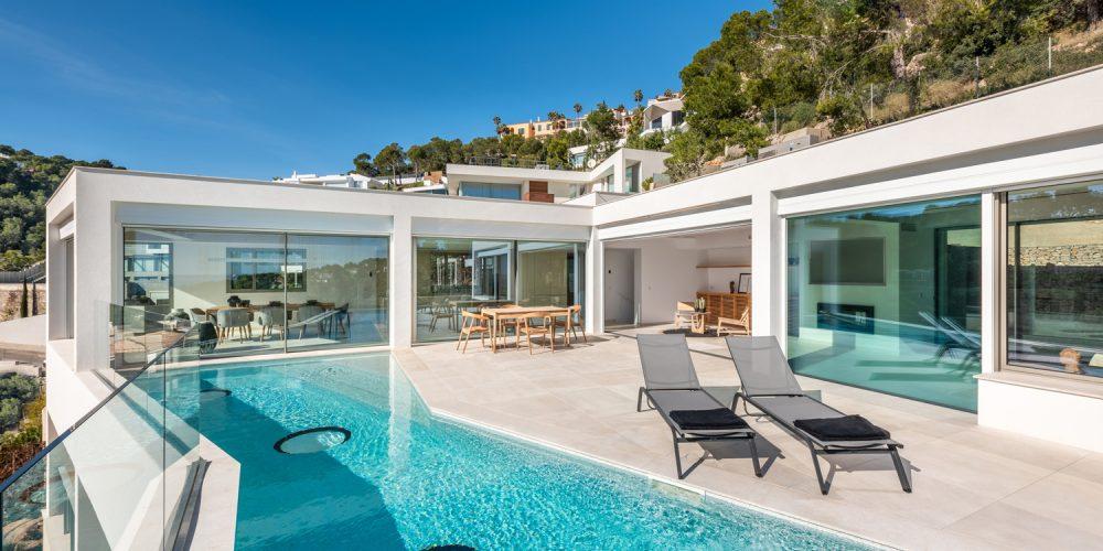 zona exterior piscina proyecto interiorismo costa den blanes mallorca