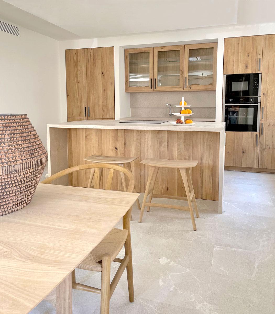 Cocina - Interiorismo casa modernista en pollensa