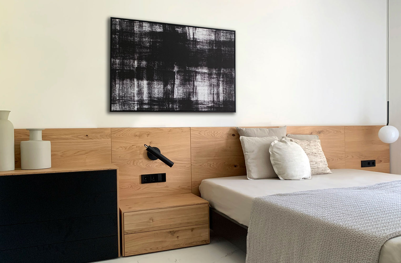 dormitorio proyecto interiorismo port adriano