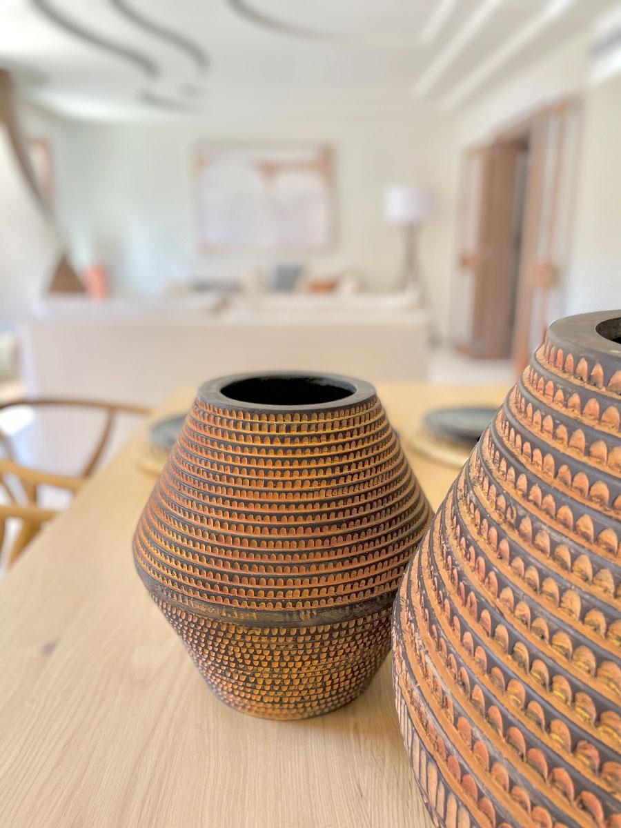 Detalles Interiorismo casa modernista en pollensa